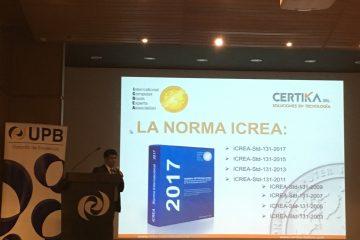 Disertación Norma ICREA Jornada Internacional Telecomunicaciones CERTIKA SRL
